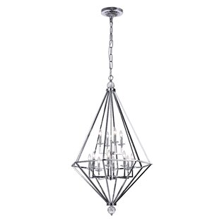 CWI Lighting Calista 12-Light Geometric Chandelier