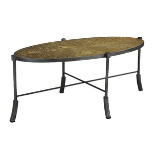 Chagnon Swerve Coffee Table by Rosecliff Heights