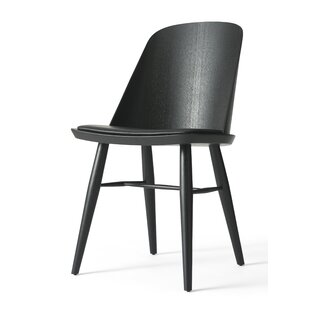Synnes Genuine Leather Upholstered Dining Chair