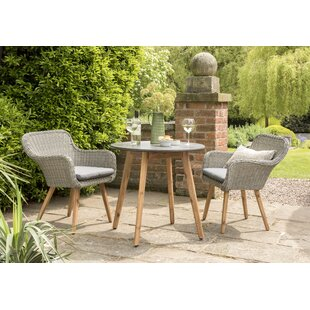 Caine 2 Seater Bistro Set By Mikado Living