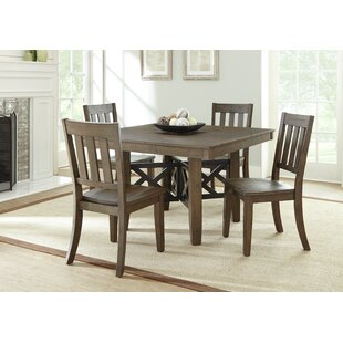 Losoya Solid Wood Dining Chair (Set of 2)
