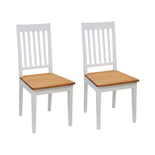 Fotau Solid Wood Dining Chair (Set Of 2) By August Grove