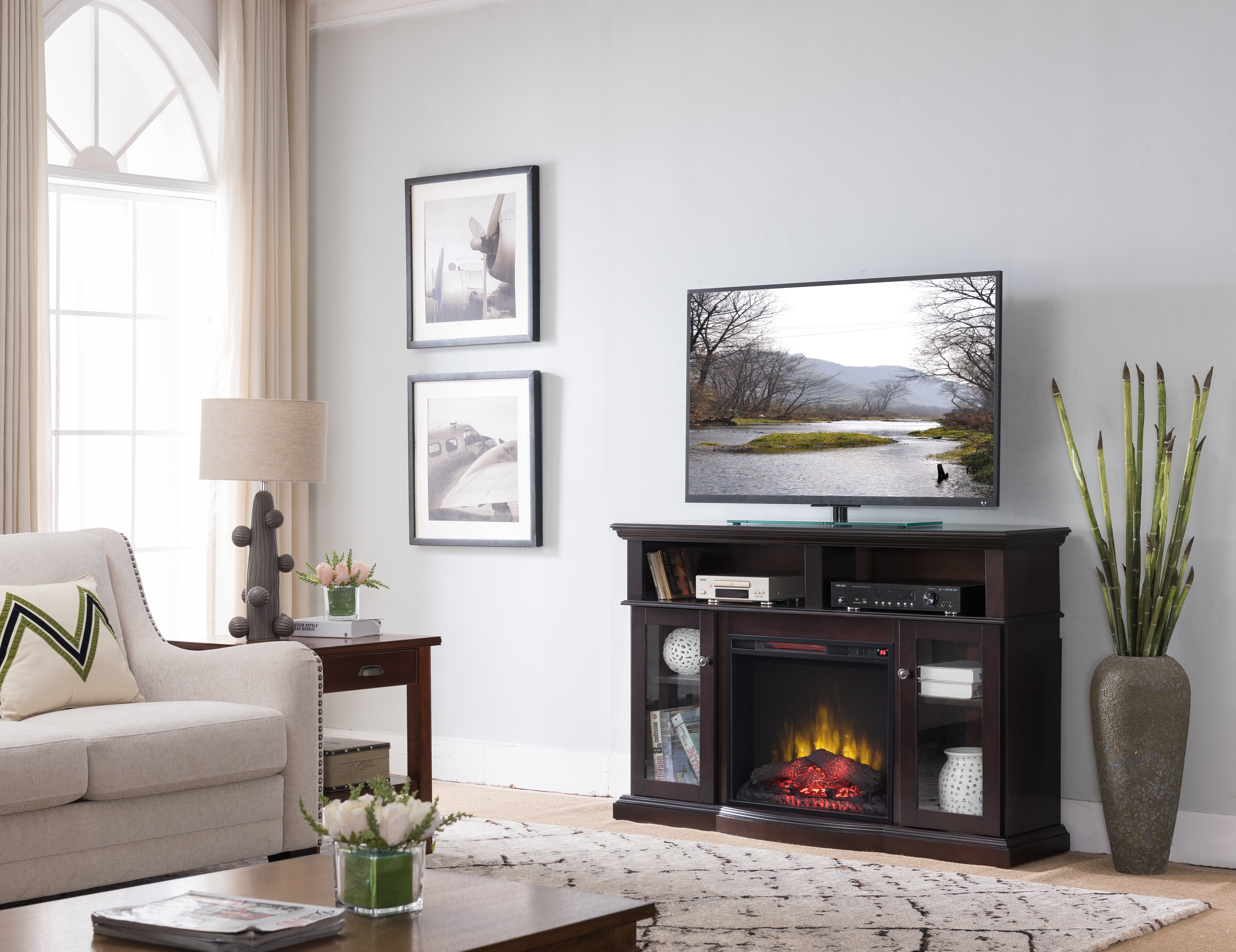 Red Barrel Studio Mares Tv Stand For