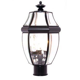 Lavergne Creek Outdoor 3-Light Lantern Head by Three Posts