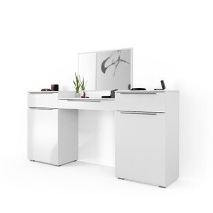 Enrique Dressing Table With Mirror By Wade Logan