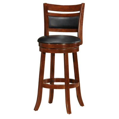 Superb Devin Wooden 29 Swivel Bar Stool Red Barrel Studio Caraccident5 Cool Chair Designs And Ideas Caraccident5Info