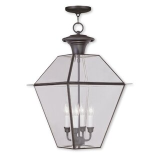 Three Posts Orchard Lane 4-Light Outdoor Hanging Lantern