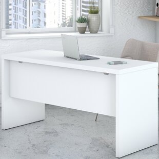 Top Reviews Echo 60 W Desk Shell By Kathy Ireland Office by Bush
