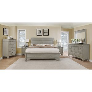 wood bedroom sets. Vasilikos Solid Wood Construction Platform 5 Piece Bedroom Set Furniture  Wayfair