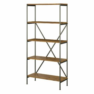 Ironworks 5 Shelf Etagere Bookcase