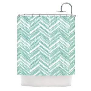Chevron Shower Curtains You\'ll Love | Wayfair
