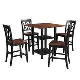 Evrychou 5 - Piece Counter Height Dining Set by Red Barrel Studio®