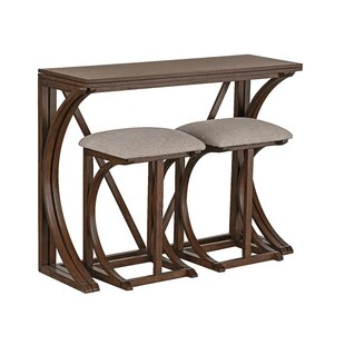 Landon 3 Piece Pub Table Set