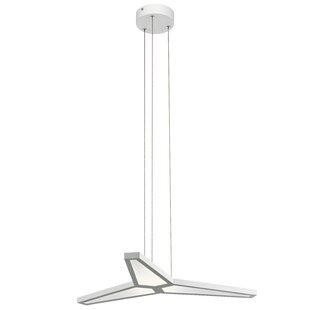 Rubin 3-Light LED Chandelier by Orren Ellis