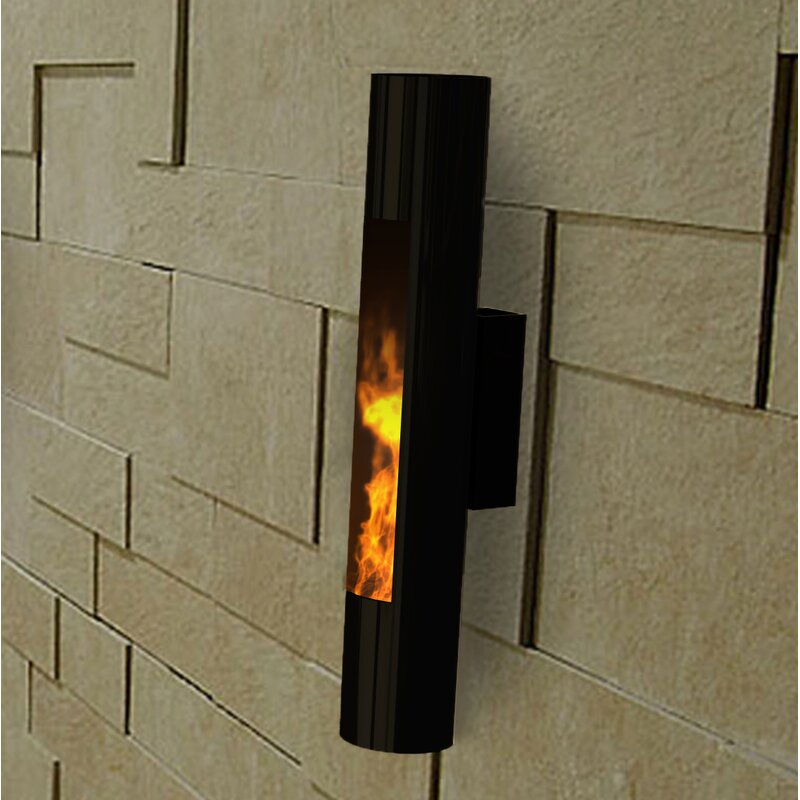 Lumin Sconce Wall Mounted Bio Ethanol Fireplace Reviews Allmodern