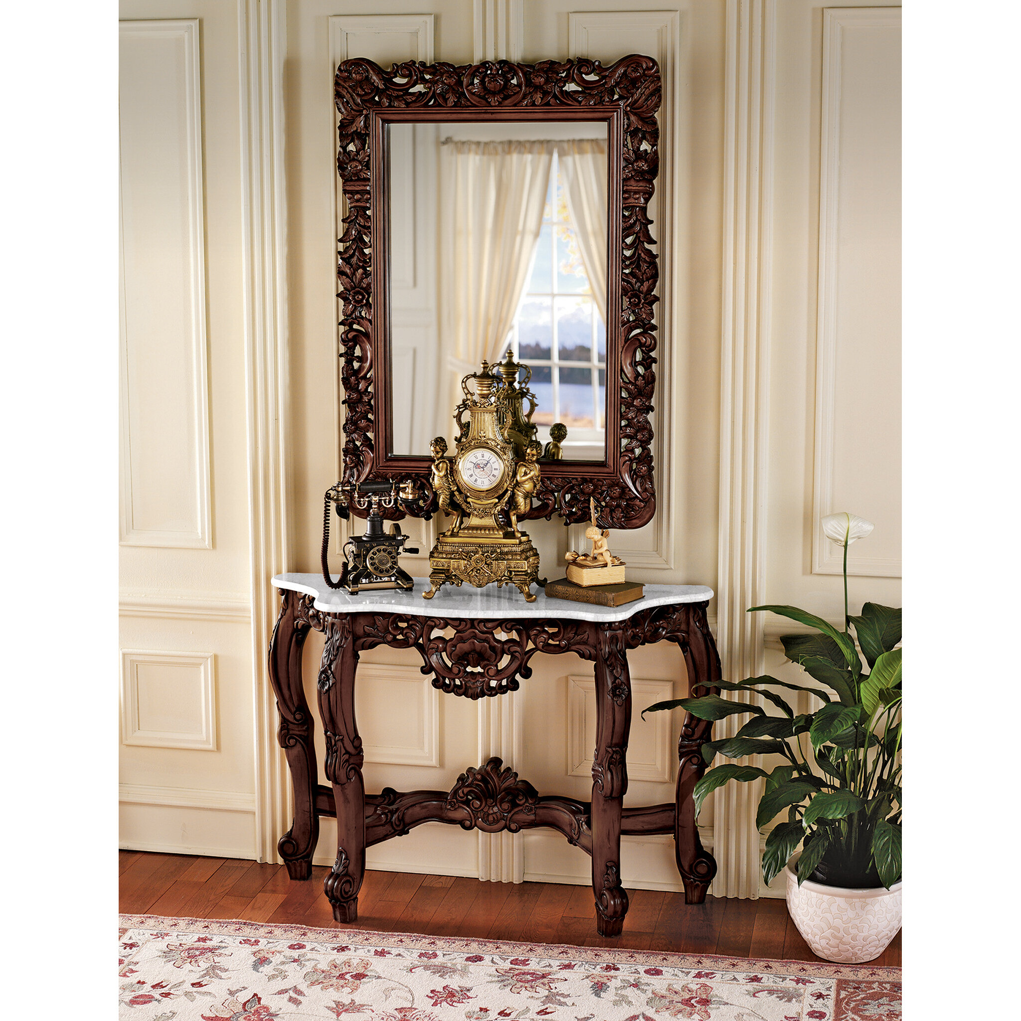 Design Toscano Royal Baroque 47 Console Table Reviews Wayfair