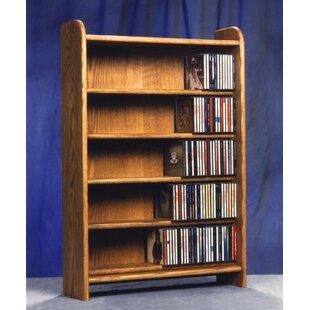 275 CD Multimedia Storage Rack By Rebrilliant