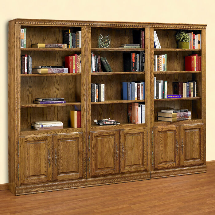 Hampton Oversized Set Bookcase By A&E Wood Designs