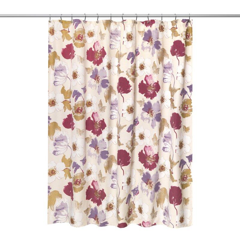 Dahlia Rose Shower Curtain