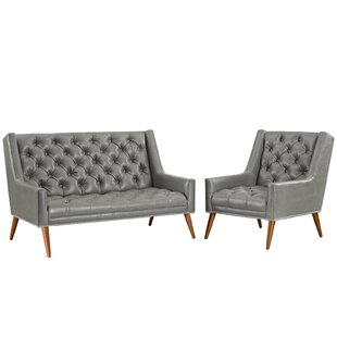 Compare & Buy Mcwilliams 2 Piece Living Room Set by House of Hampton Reviews (2019) & Buyer's Guide