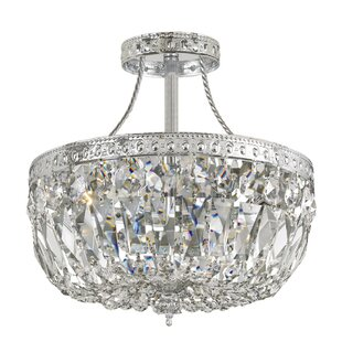 Edison 3-Light Semi Flush Moun..