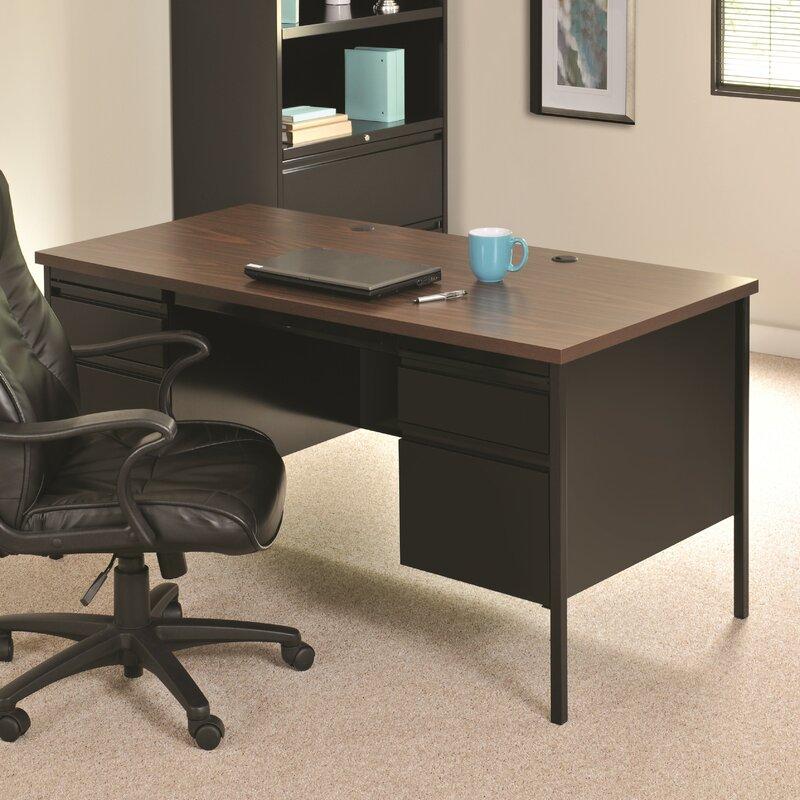 Hl10000 Series Doulble Pedestal Computer Desk