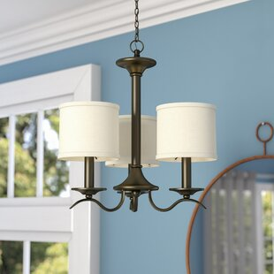 Looking for Greenwell 3-Light Shaded Chandelier By Three Posts