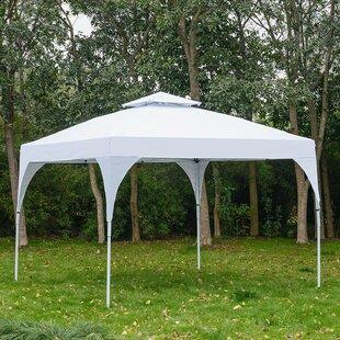 Gonsalez 3m X 3m Steel Pop-Up Gazebo By Sol 72 Outdoor