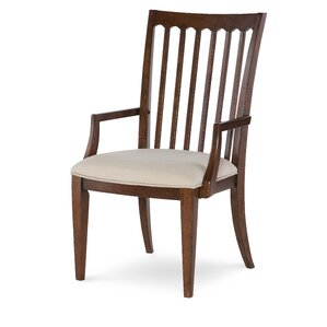 Upstate Slat Back Arm Chair (Set of 2) by..
