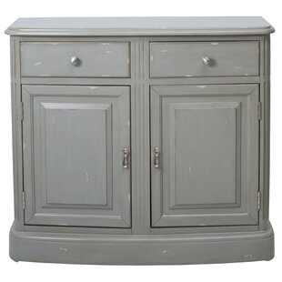 Polina 2 Door Accent Cabinet by One Allium Way