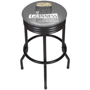 Trademark Global Guinness Line Art Pint Ribbed 29