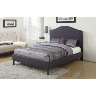 Patience Upholstered Panel Bed by Alcott Hill