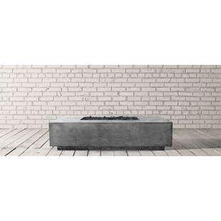 Tavola Concrete Natural Gas Fire Pit By Prism Hardscapes