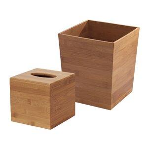 Shaw 2-Piece Bathroom Accessory Set