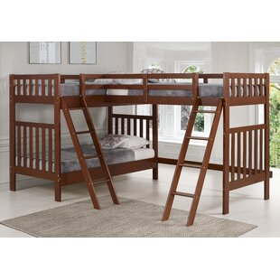 Crescent Twin Over Twin Triple Bed