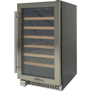 40 Bottle Single Zone Built-in/Freestanding Wine Cooler by Thor Kitchen