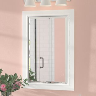 Top Reviews Rectangle Solid Wood Bathroom / Vanity Mirror By Andover Mills