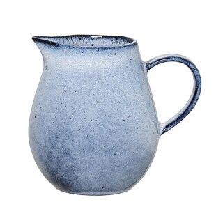 Sandrine Milk Stoneware 0.3L Jug By Bloomingville