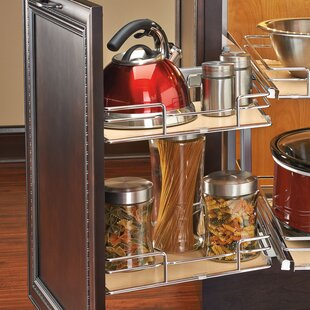 Rev-A-Shelf Two-Tier Blind Corner Organizer (Right)