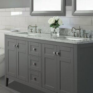 Wayfair Bathroom Vanity Carrera Marble Vanity  Wayfair