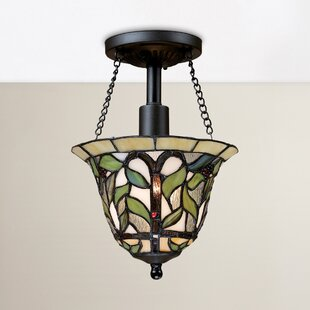 Eleonore 1-Light Semi Flush Mount by August Grove
