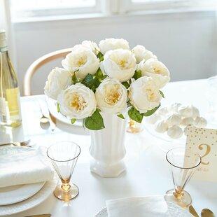 Buy artificial peony silk flower centerpiece by house of hampton best artificial peony silk flower centerpiece by house of hampton entry mudroom furniture mightylinksfo