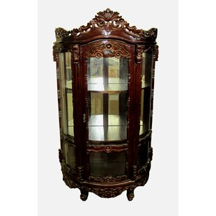 D-Art Collection Rococo Curio Cabinet