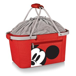 26 Can Mickey Mouse Metro Basket Collapsible Handheld Cooler