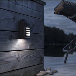 Prato LED Outdoor Bulkhead Light With PIR Sensor By Konstsmide