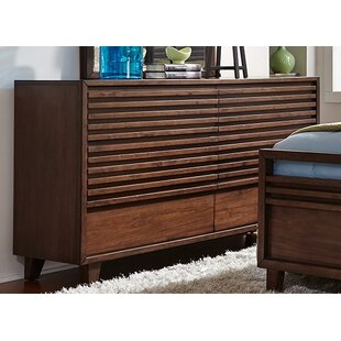 Brayden Studio Schuster 6 Drawer Double Dres..