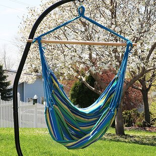 Sisk Jumbo Extra Large Chair Hammock with Stand