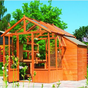 9.5 Ft W X 8.5 Ft D Hobby Greenhouse By Sol 72 Outdoor
