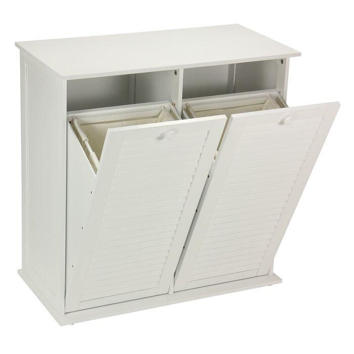pull laundry for out uk cabinet hamper tilt