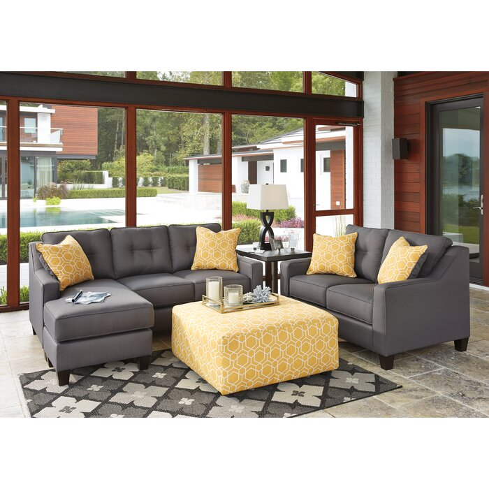 Sensational Micah Reversible Sectional Inzonedesignstudio Interior Chair Design Inzonedesignstudiocom